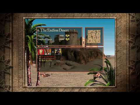 Stronghold Crusader HD - 6. The Endless Desert - Crusader Trail |