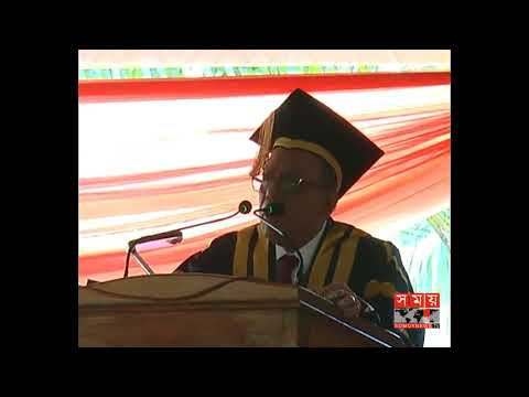 President Abdul Hamid Funny Speech at Jessore University of Science and  Technology(3rd Convocation)