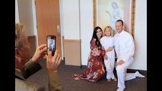 Reese's Baptism! #PRINCEOFPEACE Video