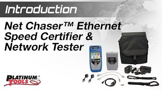 Introduction: Net Chaser™ Ethernet Speed Certifier & Network Tester