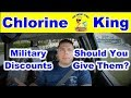 Should You Give Military Discounts For Pool Service - Chlorine King Pool Service