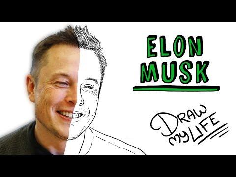 ELON MUSK   Draw My Life Del Creador De Tesla
