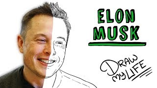 ELON MUSK | Draw My Life del creador de Tesla