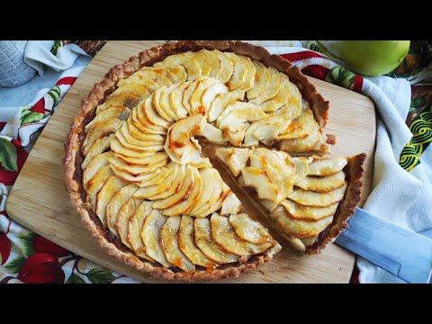 tarte-aux-pommes-(recette-facile-/pâte-maison)🍎