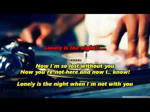 Lonely is the Night (HD Karaoke) - Air Supply (2 Key Lower)