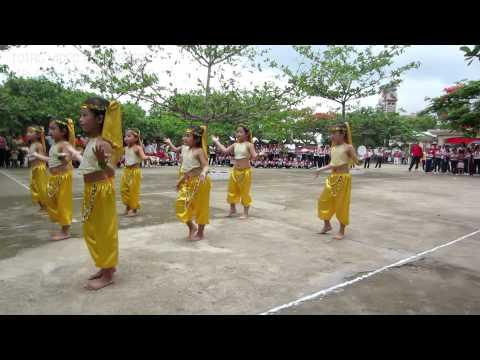 Múa Alibaba - Lớp Lá 3 trường mầm non Hoa Hồng - Định Quán Đồng Nai