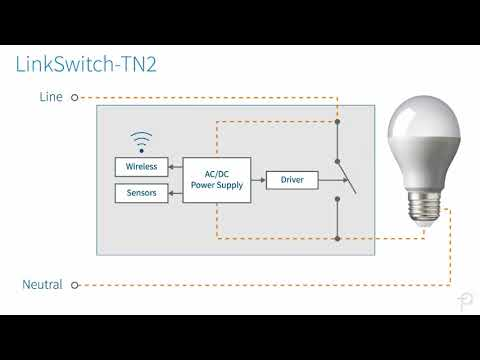 no neutral smart wall switch with linkswitch tn2 youtube. Black Bedroom Furniture Sets. Home Design Ideas