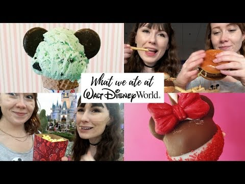 What we ate at Walt Disney World - Vegetarian Quick Services & Snacks