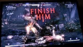 Mortal kombat XL -Меня побила сестра?(часть 2)