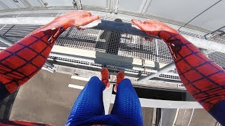 Download SPIDERMAN Fights Crime - Real Life Parkour POV Mp3 and Videos