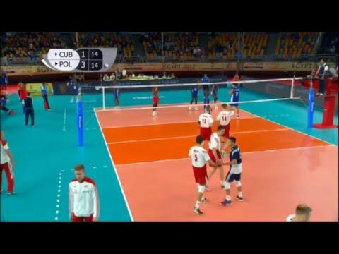 CUB vs POL 2017 FIVB Men's U23 World Championship