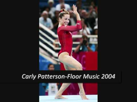 Carly Patterson Floor Music 2004 Youtube