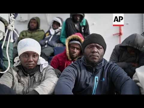 Sea Watch leaves Valletta, migrants still on board