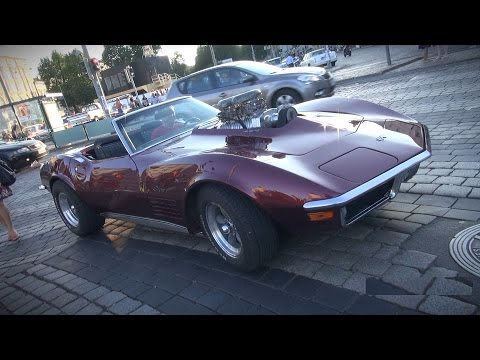 Supercharged 454 Big Block C3 Corvette - Pure V8 Sounds!