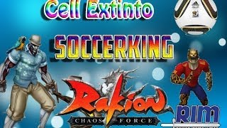 "Rakion - Cell, Criatura Extinta ""SoccerLeopardKing"" Lv 99 vs Otros Cells 99"