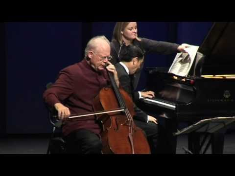 Lynn Harrell - Rachmaninov: Sonata in G Minor, Op. 19 - movement 1