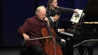 Lynn Harrell - Rachmaninov: Sonata in G Minor, Op. 19 - movement 1