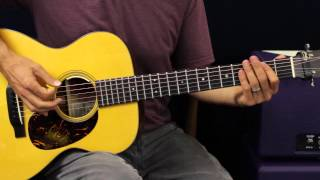 Kenny Chesney - American Kids - Guitar Lesson - EASY - Country Song