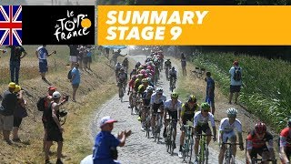 Summary - Stage 9 - Tour de France 2018