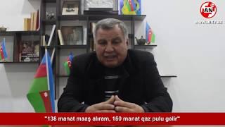 """""""138 manat maaş alıram, 150 manat qaz pulu gəlir"""" - Vətəndaş Şikayəti"""