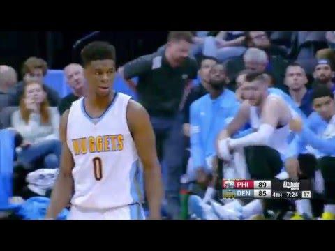 Philadelphia 76ers vs Denver Nuggets - March 23, 2016