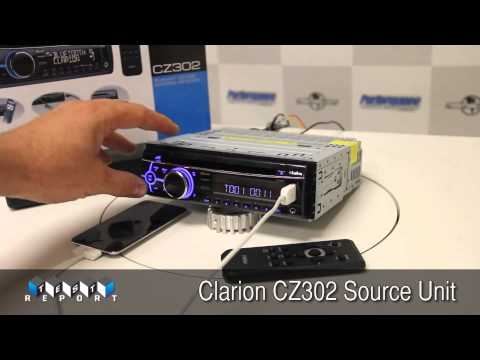hqdefault clarion cz302 source unit youtube clarion cz300 wiring diagram at crackthecode.co
