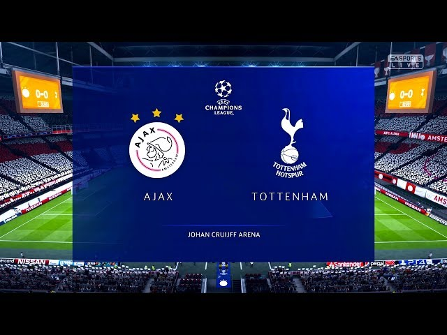 3129e78ad257 FC AJAX VS TOTTENHAM SPURS || UCL Semi - Final 2019 || FIFA 19