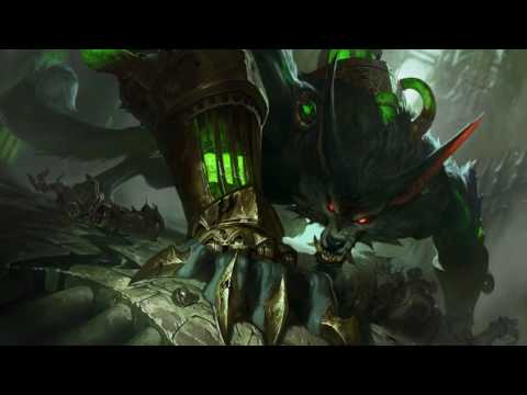 Warwick Reworked Login Screen Animation Theme Intro Music Song【1 HOUR】