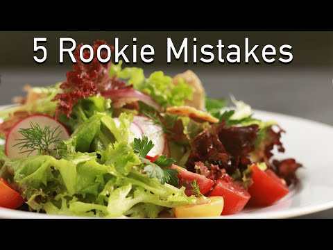 Salad Secrets (5 Rookie Mistakes to Avoid)