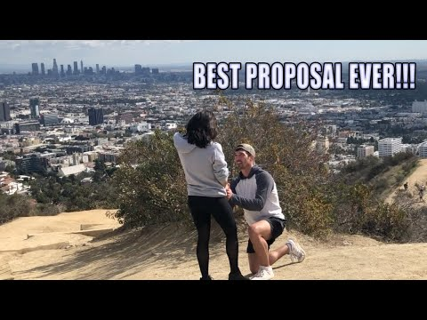 SHE SAID YES | Jess and Cody