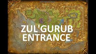 Zul'Gurub BFA Entrance Location
