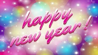 Happy New Year 2020 whatsapp download images wishes animation greetings wallpaper clock