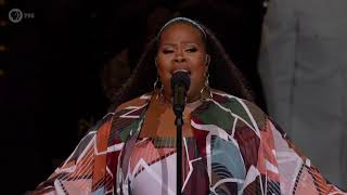 Amber Riley performing Ill Stand By You on the 2019 National Memorial Day Concert YouTube Videos