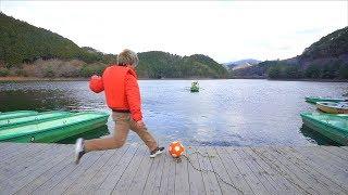Soccer Trick Shots Kickerball Edition | Kamiwaza Trickshots