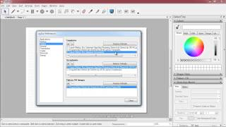 SketchUp Pro - Layout - Preferences Window