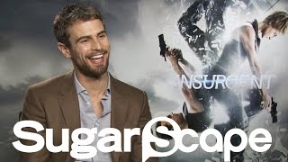 Theo James teases BIG plot changes for the Allegiant movie