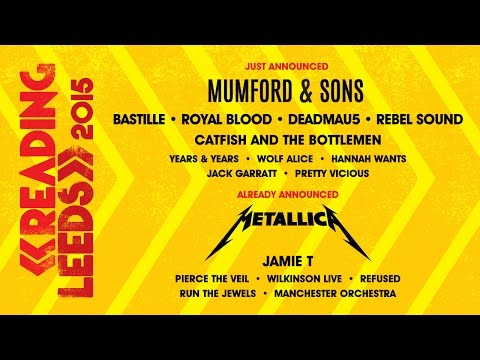 Second Headliner Announced | Reading & Leeds 2015