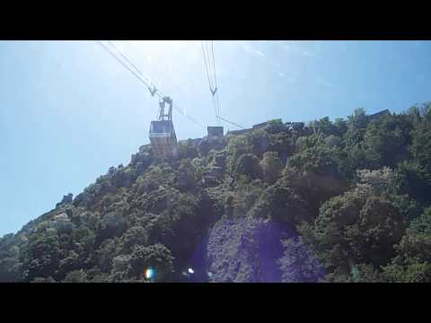 San Marino Cable Car - going up