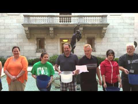 ALS Ice Bucket Challenge - Boston Public Library