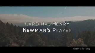 Image of Cardinal Henry Newman's Prayer HD video