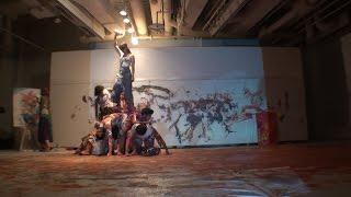 2016/7/16 躍動する色彩 DANCING COLORS 正面カメラ 19:40 「躍動する色...