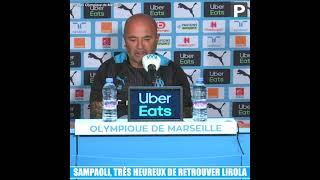 Jorge Sampaoli, très heureux de retrouver Pol Lirola