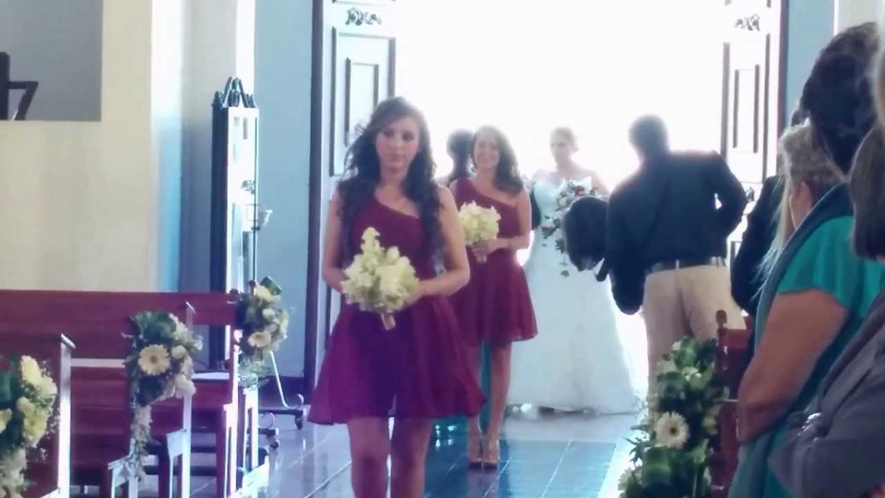 Boda Costa Rica - YouTube