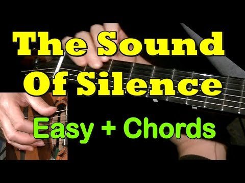 THE SOUND OF SILENCE: Easy Guitar Lesson + TAB + CHORDS by GuitarNick