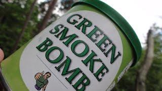 Riesen Rauchbombe GREEN SMOKE BOMB