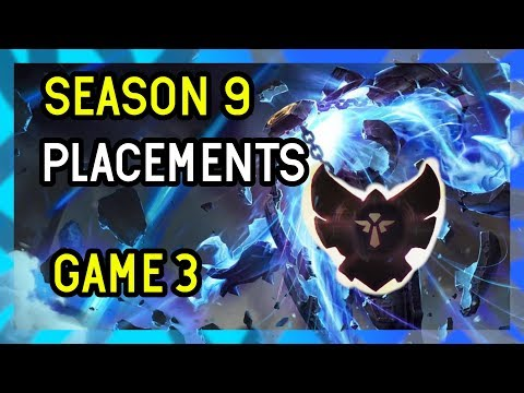 Game 3 - Season 9 Support Placements League of Legends - Xerath Support thumbnail