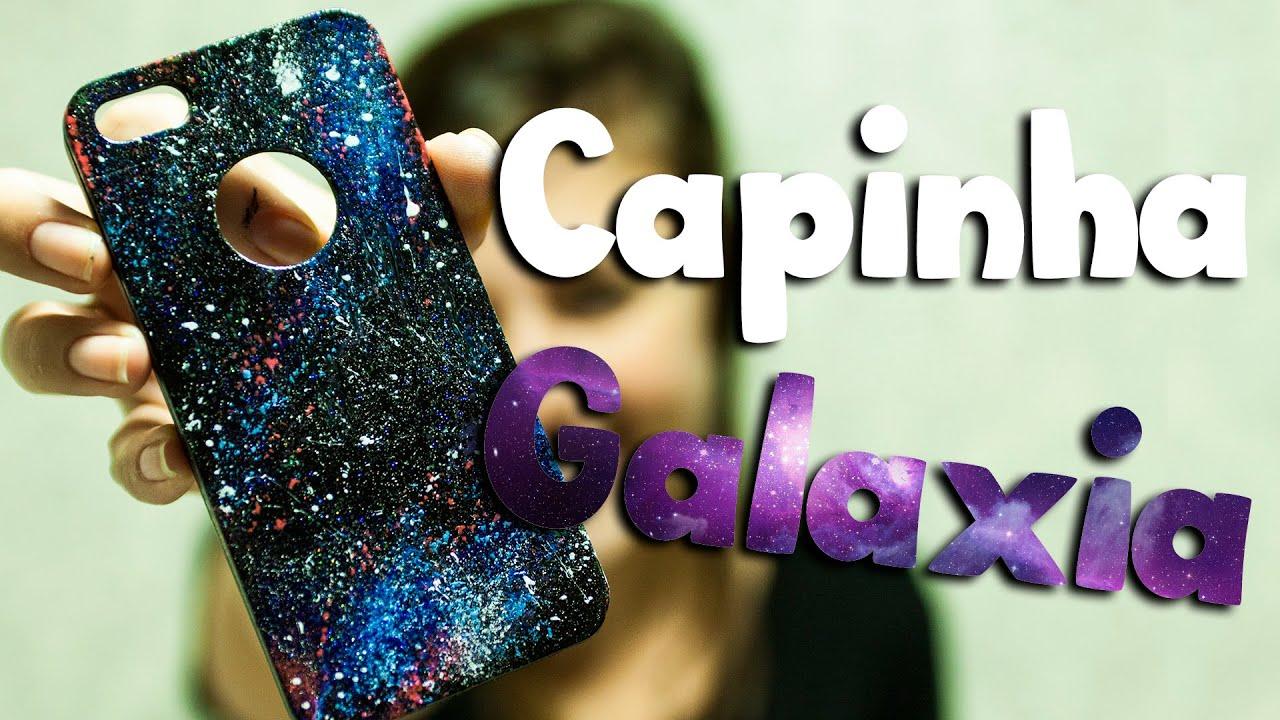 accead406c8db9 DIY: Como personalizar a capinha do celular com esmalte (efeito galaxia)