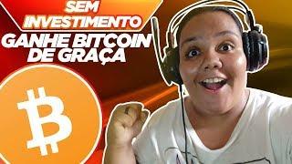 NOVO APP! COMO GANHAR BITCOIN DE GRAÇA (SEM INVESTIMENTO)