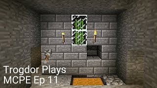 Let's Play Minecraft Pocket Edition: Ep 11 Sugar Cane Farm