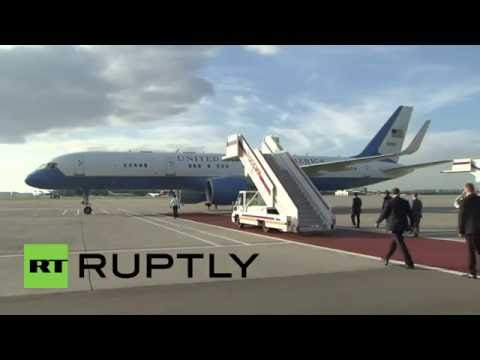 Russia: Kerry arrives in Moscow ahead of talks with Putin
